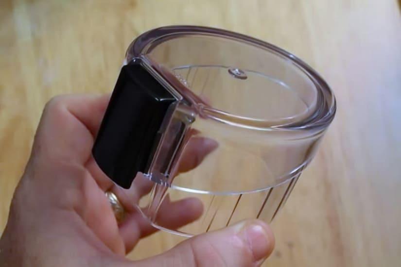 coffee grinder krups lid