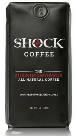 shock coffee bag