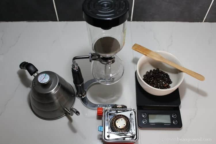 Hario-Coffee-Siphon brewing Instructions