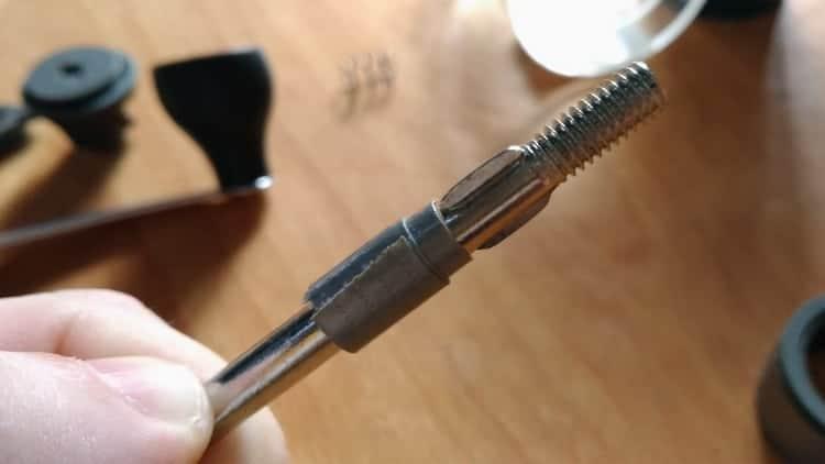 Modifying The Center Metal Rod