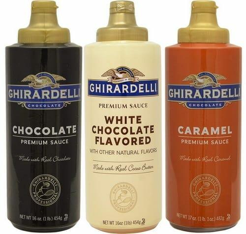 Ghirardelli Squeeze Bottles