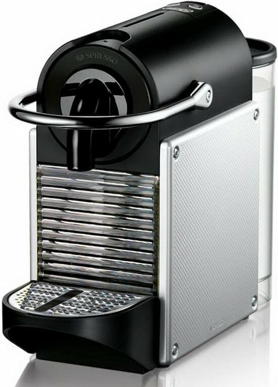 The Nespresso Pixie Espresso Machine