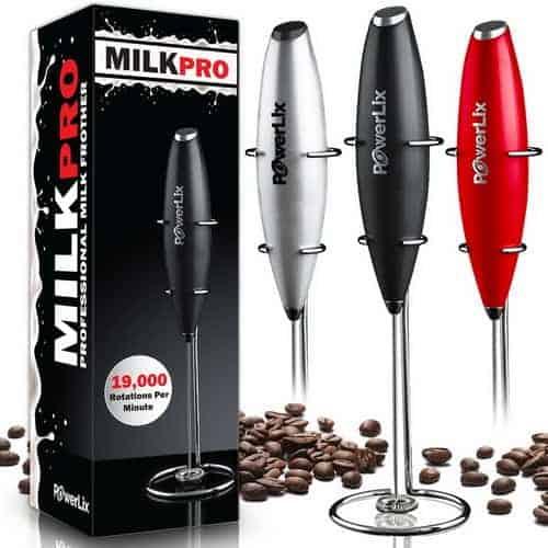 Powerlix Milk Pro - Handheld Milk Frother