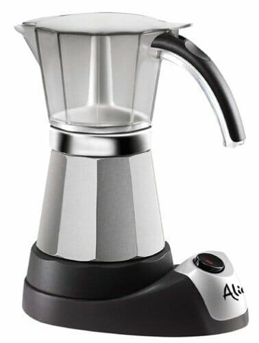 De'Longhi Alicia Electric Moka Espresso Coffee Maker