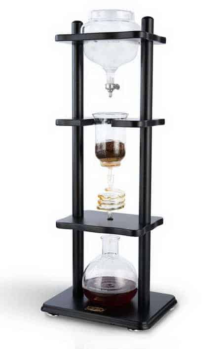 Yama Glass Coffee Tower with Iced Slow-Drip Technology