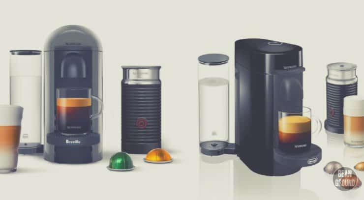 nespresso delonghi vs. breville
