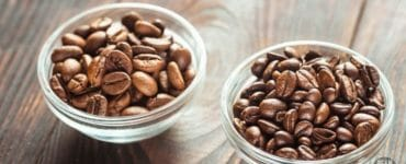 espresso beans vs. coffee beans