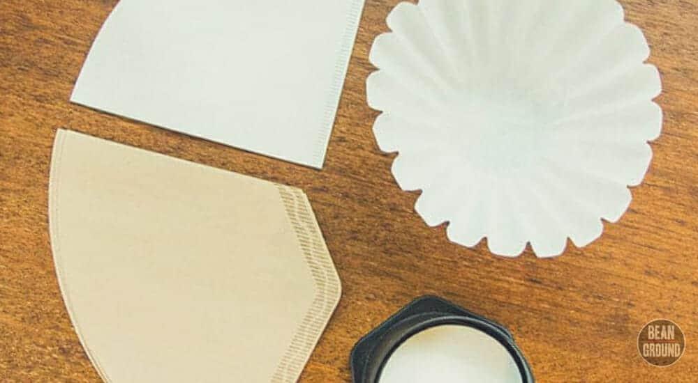 cone filter vs. flat filter