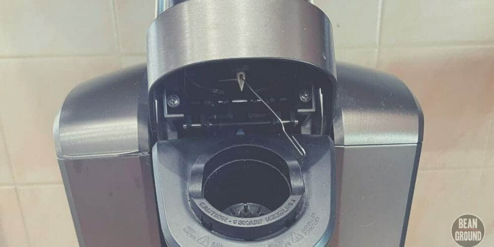 how to clean a keurig needle